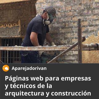 Páginas web para empresas y técnicos de la arquitectura y construcción