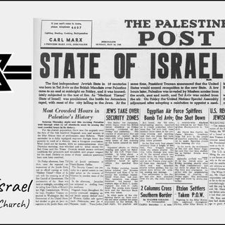 15 June 2019 (#7 Session 3) Day 4 - History of Israel (Part 1 - Israel & the Church)