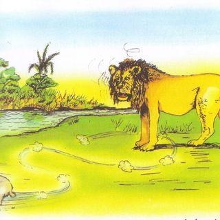 Il leone, la lepre e il cervo