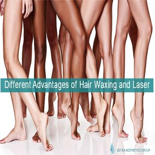Different Advantages of Hair Waxing and Laser