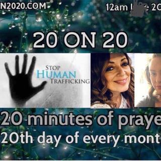 20 on 20 prayer for the Children and Families with Jacklyn Conrad