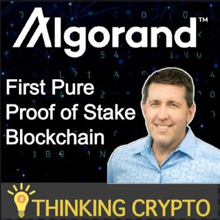 Interview: Algorand COO Sean Ford - PoS ALGO - Marshall Islands CBDC - Tokenizing Gold - Wall Street Blockchain Alliance