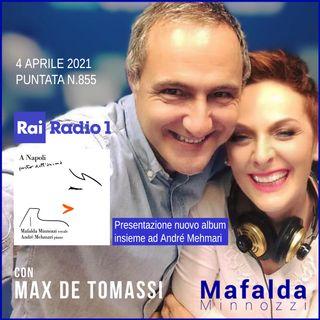 Con Max de Tomassi - Brasil su RAI Radio 1- Speciale A NAPOLI - puntata 855