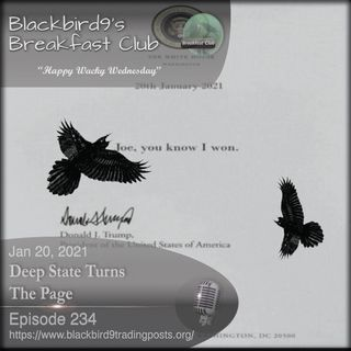 Deep State Turns The Page - Blackbird9 Podcast