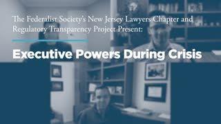 Executive Powers During Crisis