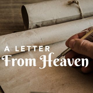 A Letter From Heaven with lake waves