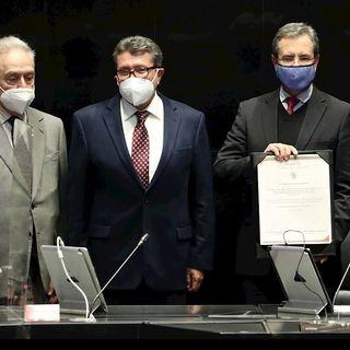 Esteban Moctezuma rindió protesta como nuevo embajador de México en los Estados Unidos