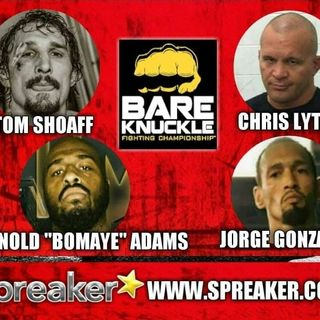 """BKFC2 Indiana Fighters Chris """"Lights Out"""" Lytle, Arnold """"Bomaye"""" Adams, Tom Shoaff, Jorge """"The Gladiator"""" Gonzalez"""