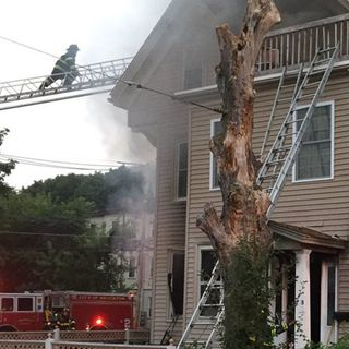 Four Rescued, One Arrested After Brockton House Fire