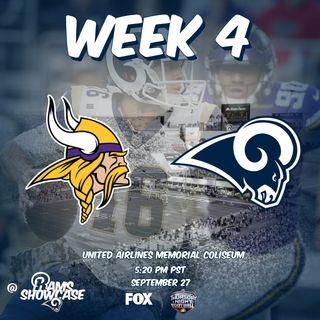 Rams Showcase - Week 4 - Vikings @ Rams