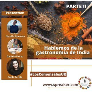 Hablemos de la gastronomía de India 2 parte
