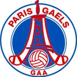 Tadhg talks to Paris Gaels