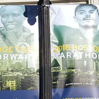 2018 Boston Marathon Street Banners Unveiled