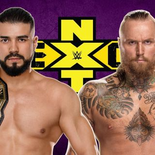 WWE NXT TakeOver: New Orleans Predictions - Andrade Cien Almas vs Aleister Black