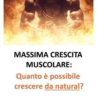 Massimo potenziale di sviluppo muscolare