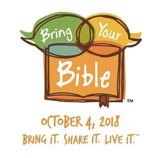 Candi Cushman / Bring Your Bible To School Day