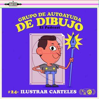 Ep. 24 - Ilustrar carteles