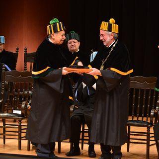 Entrega UNAM 10 Doctorados Honoris Causa