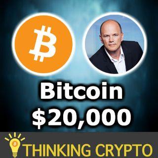 BITCOIN Over $20,000 in 18 Months Novogratz - FinCen & Liechtenstein Crypto Regulation -  Medici Bank Crypto
