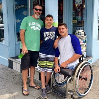 Dad To Dad 10 - Air Force vet Bob Roybal raises a gold medal winning Paralympic athlete.