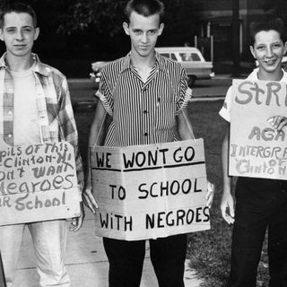 Negroes Having No Rights in the USA