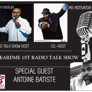 Uheardme1st RADIO TALK SHOW -  PART  2 ANTOINE BASTITE AND  SHEILA FRANCIS