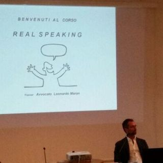 Sessione 11 - PARTE 2 - L'arte di parlare in pubblico Avv. Leonardo Maran