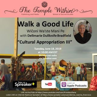 Cultural Appropriation III with Dellmarie Dullknife Bradfield