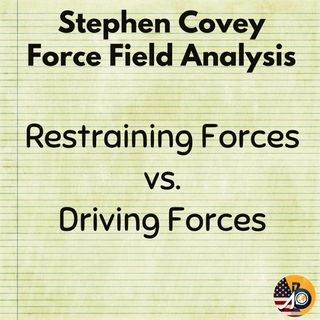 Stephen Covey: Force Field Analysis - Restraining Forces vs. Driving Forces