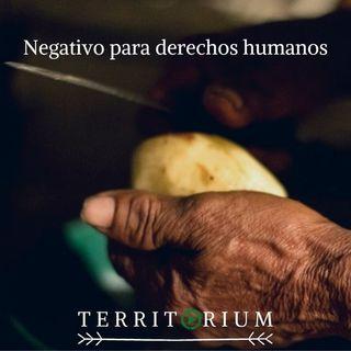 Negativo para derechos humanos