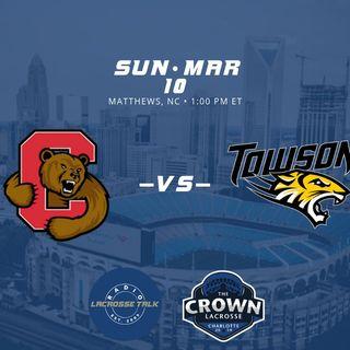 #2 Cornell vs #1 Towson