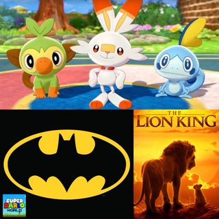 SDW Ep. 129: Pokemon, Batman & The Lion King