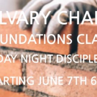 Foundations: Justification By Faith Pt. 1