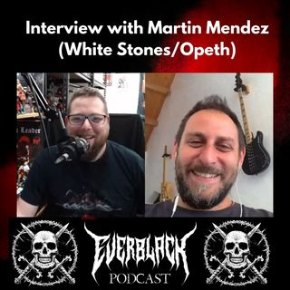 Martín Méndez from White Stones / Opeth talks 'Dancing Into Oblivion'