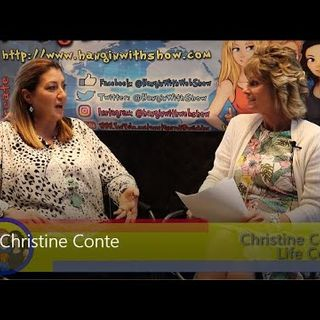 Good Vibes & Positive Energy With LifeCoach Christine Conte An interview on the Hangin With Web Show