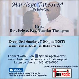 Marriage Takeover The Body of One, with Rev. Eric and Rev. Temeka Thompson