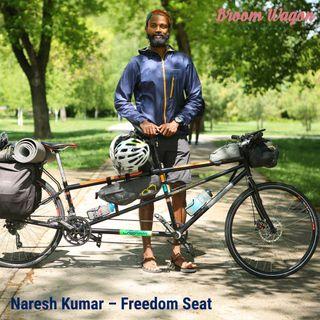 NARESH KUMAR – FREEDOM SEAT #BIKEAGAINSTSLAVERY