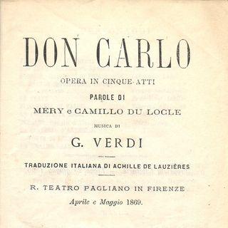 L'opera 21 - Giuseppe Verdi - Don Carlos - Labo, Bastianini, Christoff, Stella, Santini