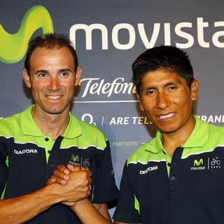 Movistar Team, en la 1ª jornada de descanso de la Vuelta a España 2015