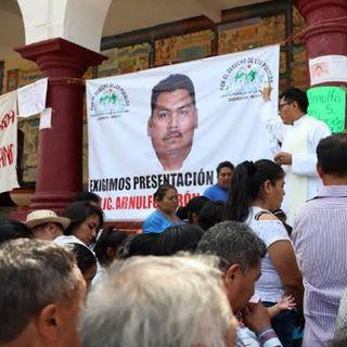Hallan sin vida a activista Arnulfo Cerón Soriano