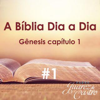 Curso Bíblico 1 - Gênesis Capítulo 1 - Criação do mundo e Criação de Adão - Padre Juarez de Castro