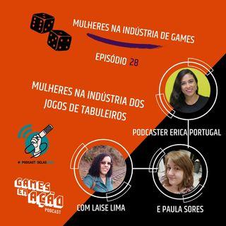 #28 - Mulheres na Indústria dos Jogos de Tabuleiros