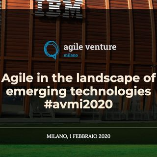 Agile Venture Milano 2020 con Alessandro Giardina