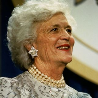 A Special Thanks and Letter On the Air To Barbara Bush