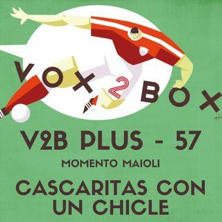 Vox2Box PLUS (57) - Momento Maioli: Cascaritas Con un Chicle