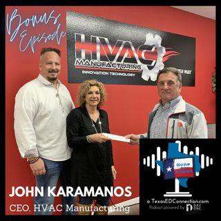 Bonus Episode John Karamanos HVAC Manufacturing