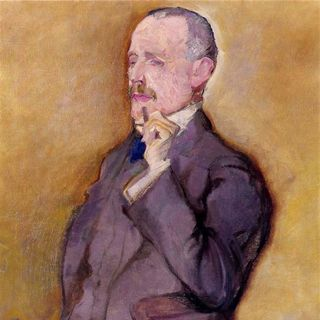 Max Oppenheimer - Porträt Ernst Koessler