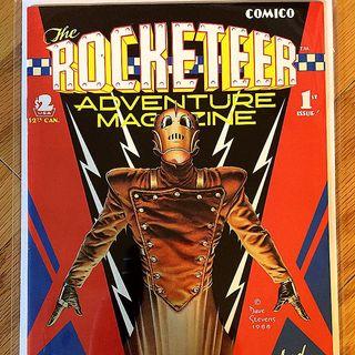 Episode 023 - Rocketeer Adventure Magazine, July 1988, Comico