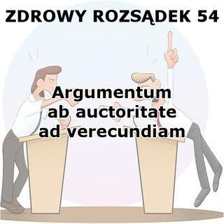 54 - Argumentum ab auctoritate