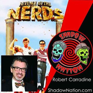 King of Nerds-Robert Carradine (Lewis Skolnick) on Shadow Nation